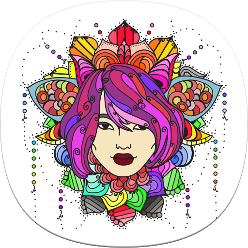 Korean Coloring Book For Adults Amazonau Appstore Android