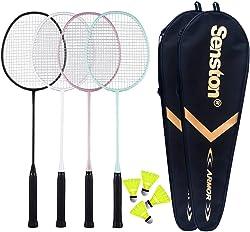 Senston Badminton 4 Pack Badminton Set