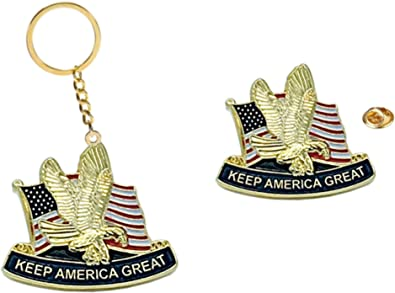 Lot of 25 Trump Keep America Great 2020 MADE IN USA President Lapel Pin