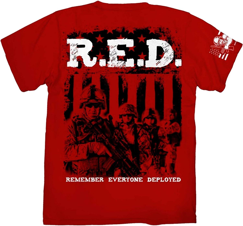 Joe Blow R.E.D. Remember Everyone Deployed T-Shirt