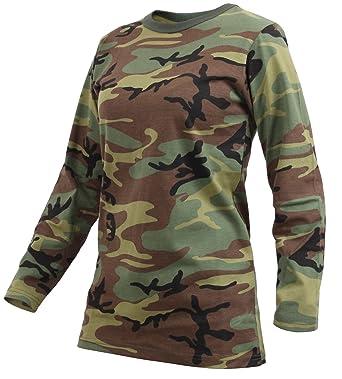 231a96ea233f Amazon.com: Rothco Womens Long Sleeve Camo T-Shirt: Clothing