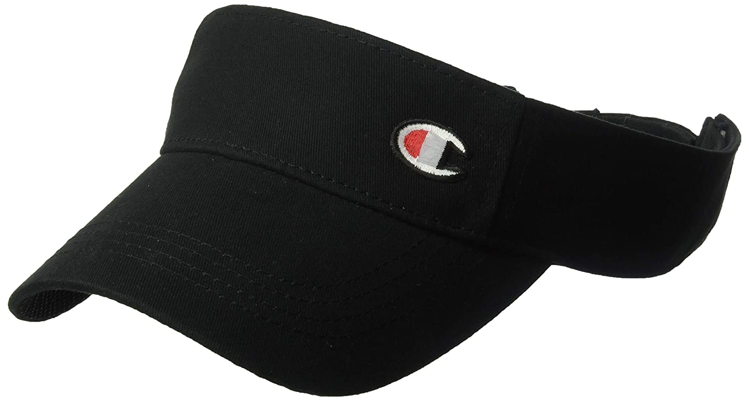 Champion Mens Twill Mesh Visor with C Patch Visor
