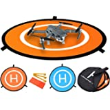 FSLabs Drone and Quadcopter Landing Pad 32 inch RC Aircraft Soft Landing Gear Surface Made of Waterproof Eco-Friendly Rubber For DJI Mavic Phantom 3 4 spark Mavic Pro