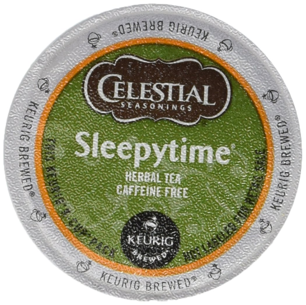 Keurig, Celestial Seasonings, Sleepytime Herbal Tea, K-Cup packs, 50 count by Celestial Seasonings