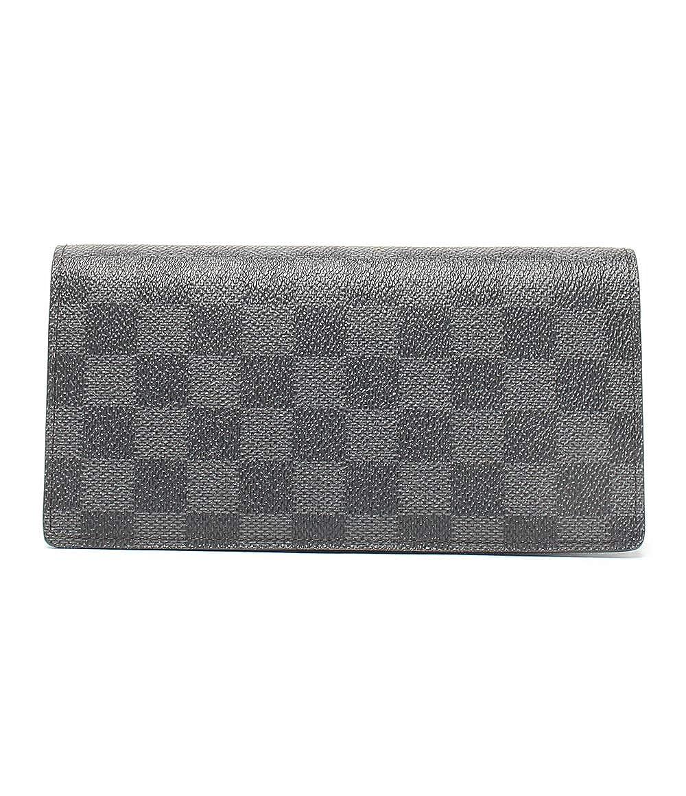 美品 ルイヴィトン ポルトフォイユブラザ 長財布 二つ折り ダミエグラフィット N62665 メンズ Louis Vuitton 中古 B07SJMM1B5