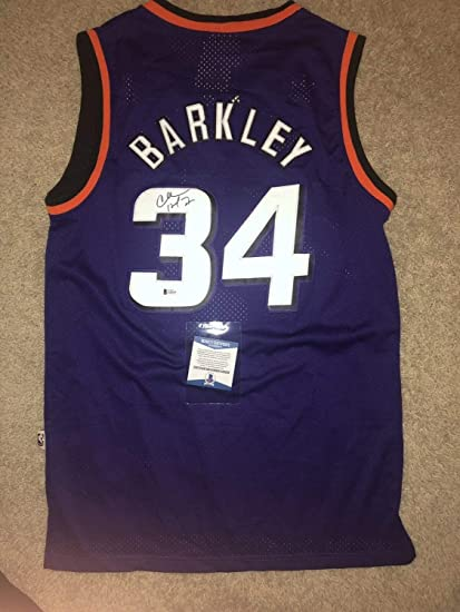 the best attitude fbf1a d44c2 Charles Barkley Autographed Signed Jersey Phoenix Suns ...