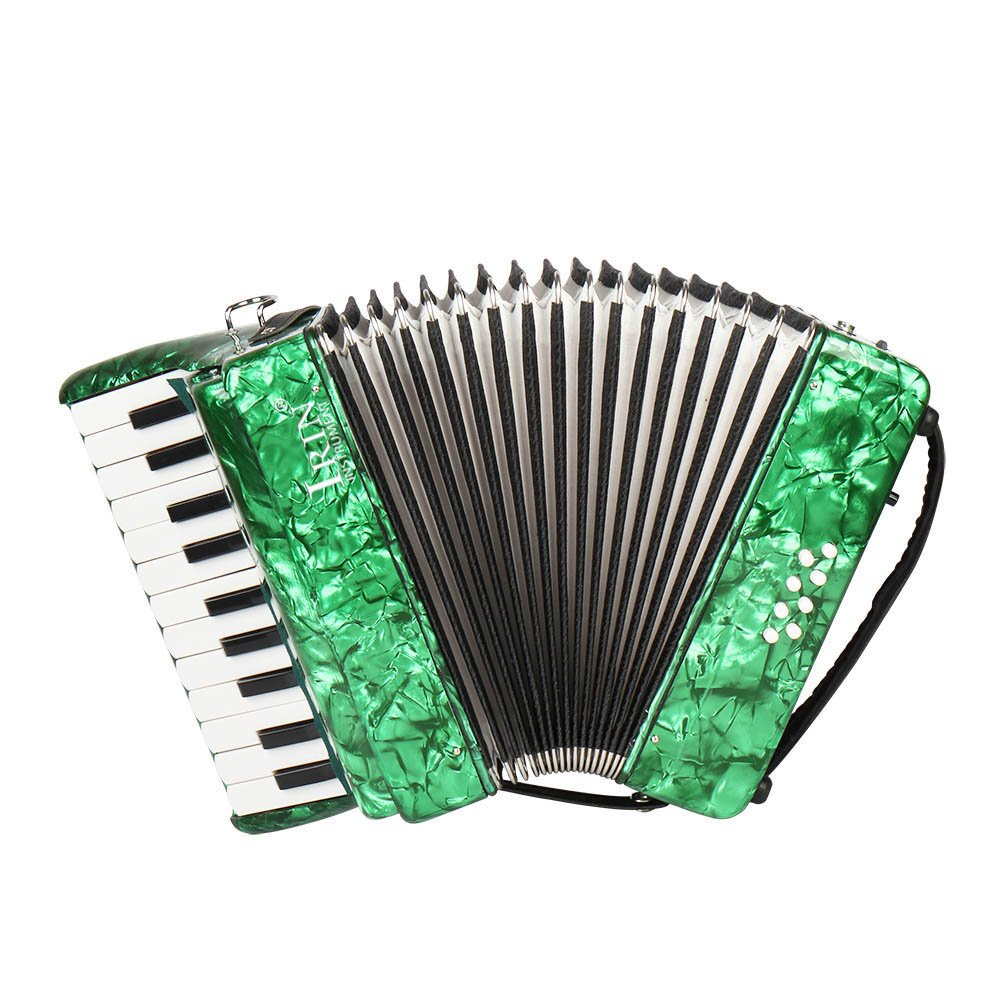 Festnight Piano Accordion, 22 Key 8 Bass Accordion Keyboard Instrument Students Beginners Childern Kids