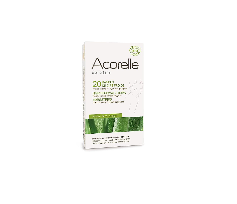 Acorelle Wax Strips for Face, 0.100 Ounce 9151