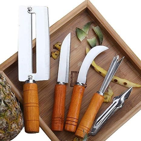 Amazon.com: SUPER ZR - Juego de 5 cuchillos para pelar cañas ...