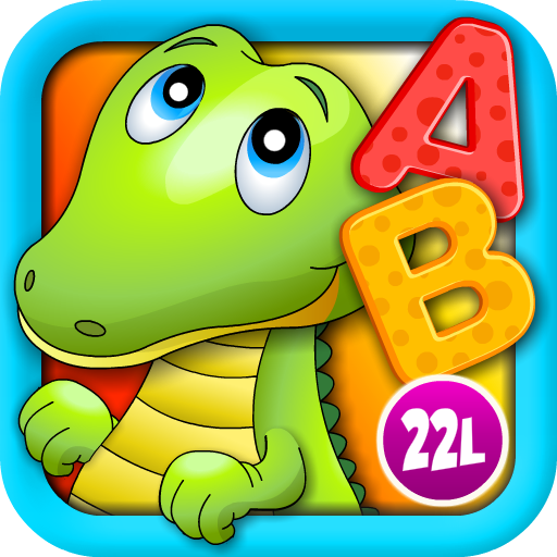 Alphabet Aquarium Vol 1: Animated Puzzle Games with Letters and Animals -