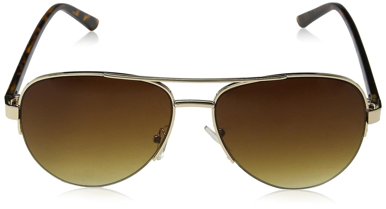 Womens Valentina Sunglasses, Gold/Brown/Brown Gradient, 60 Eyelevel