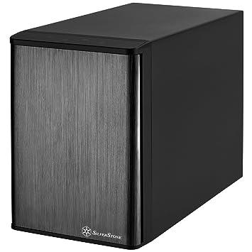 """SilverStone SST-TS431S-V2 - Carcasa para disco duro externo Mini SAS con almacenamiento RAID de 4 bahías, para HDD SAS/SATA o SSD de 3,5"""", negro"""