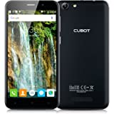 """CUBOT Note S 3G Smartphone - 5.5"""" pollici IPS HD Screen Android 5.1 MT6580 Quad Core 1.3GHz 2GB RAM+16GB ROM Dual SIM HotKnot WiFi Cellulare (Nero)"""