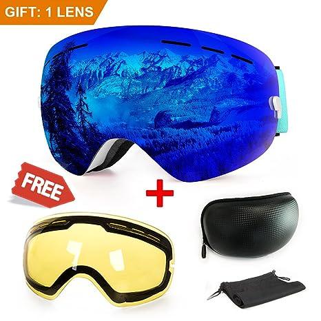 9704bb4fede Amazon.com   Extra Mile Ski Goggles