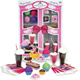 """Complete 27 PC Doll Accessory Food Set, 15 Sweet Treats & Spoons & Paper Napkins, 18"""" Doll Pretend & Doll Accessory Play…"""