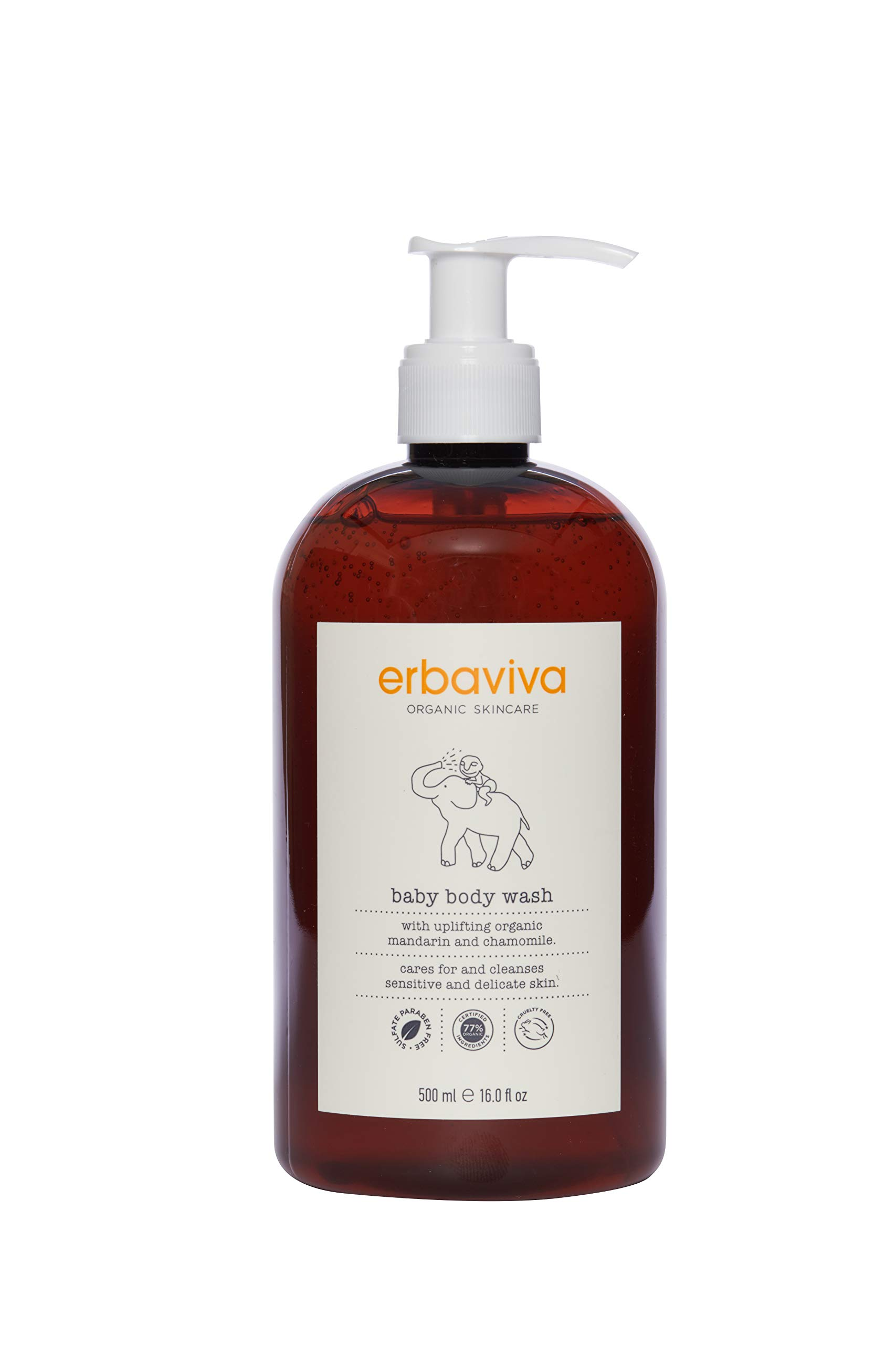 Erbaviva Baby Body Wash (16 oz)