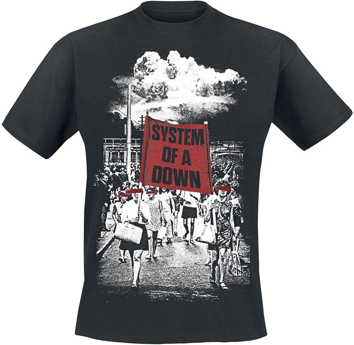 INNES Herren Groß Logo Schwarz T-Shirt