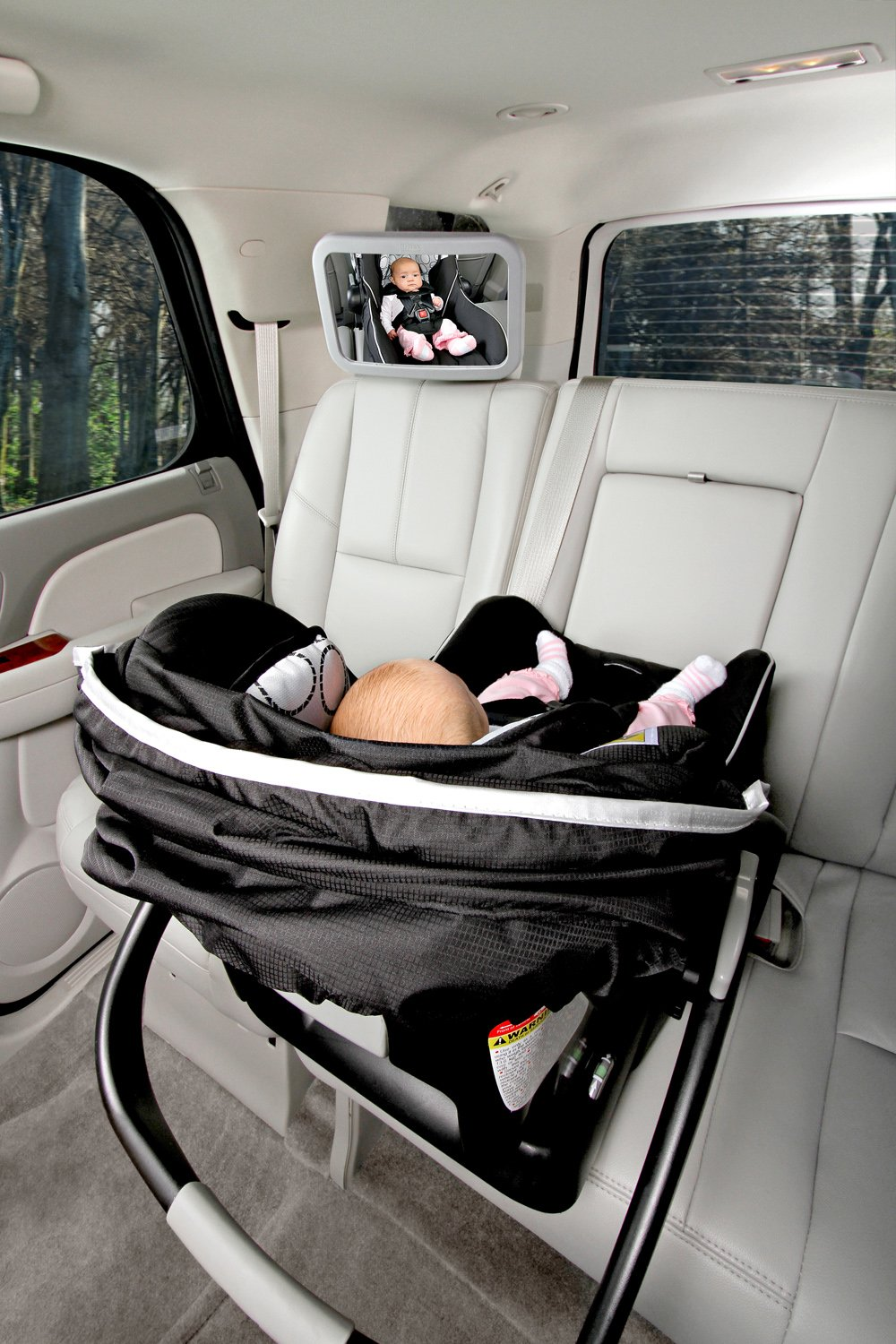 My only thing would be that i probably would have made the mirror - Amazon Com Britax Back Seat Mirror Rear Facing Baby View Mirrors Baby