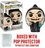 Snow White and the Seven Dwarfs Witch Pop! Vinyl Figure and (Bundled with Pop BOX PROTECTOR CASE)