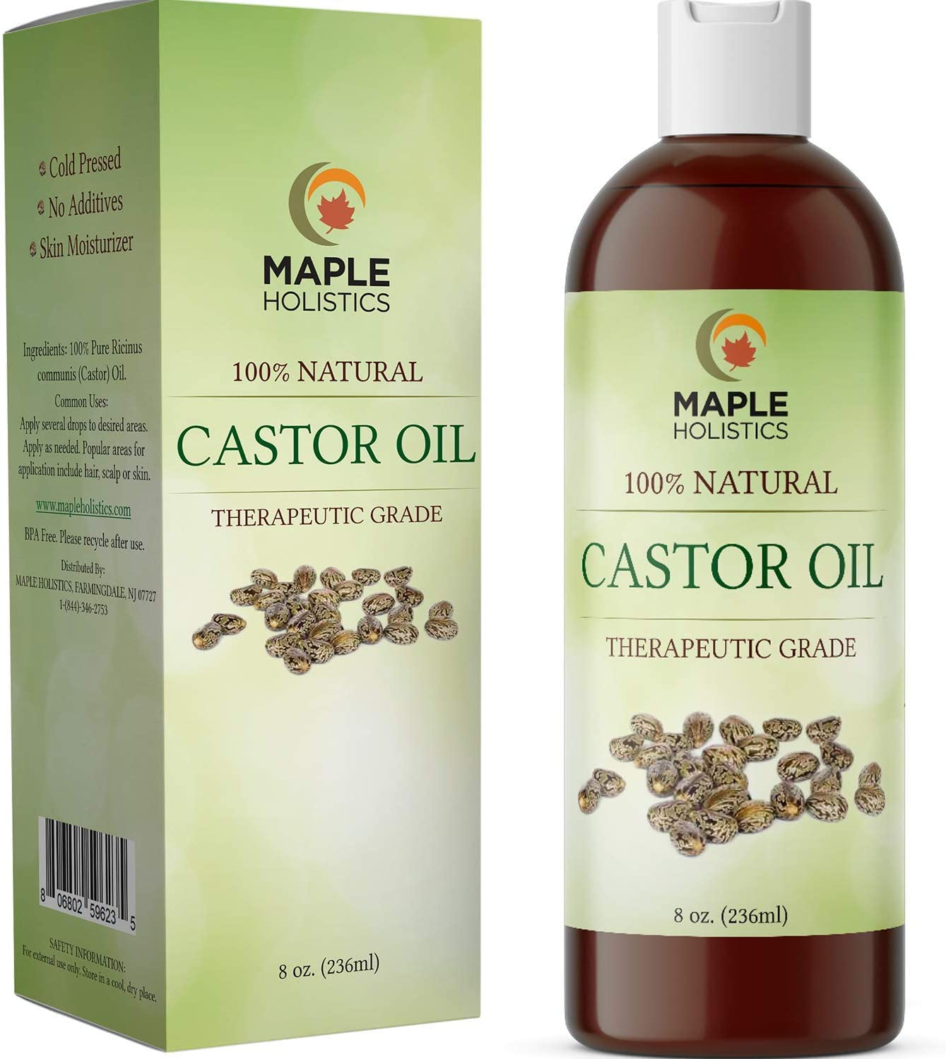 Amazon Com Jamaican Castor Oil For Hair Growth Cold Pressed Castor Oil For Eyelashes And Eyebrows Humectant Moisturizer And Candida Cleanse Jamaican Black Castor Oil For Hair Growth For Women And