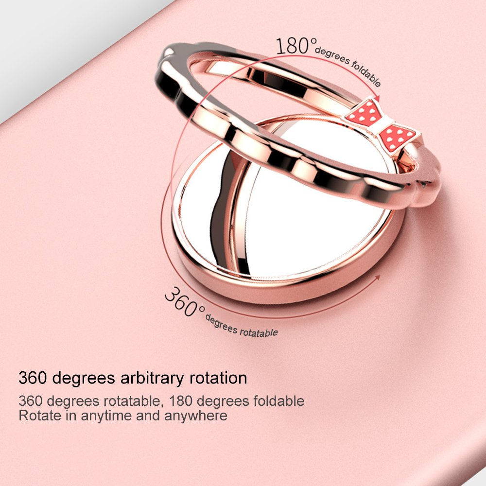Amazon.com: Finger Ring Stand, AOZBZ 360 Degree Rotation Finger Ring ...