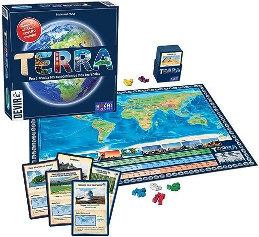 Devir - Terra, Juego de Mesa (222920): Amazon.es: Juguetes y juegos