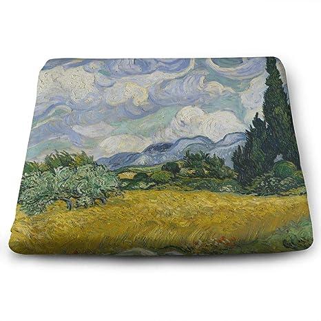 Amazon.com: Vincent Van Gogh – Cojín de asiento de espuma ...