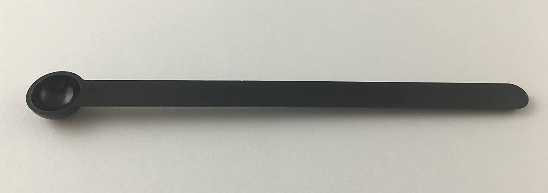 Pack-Bub Micro Spoon // Mini Scoop 10 Pack 0.15 cc black