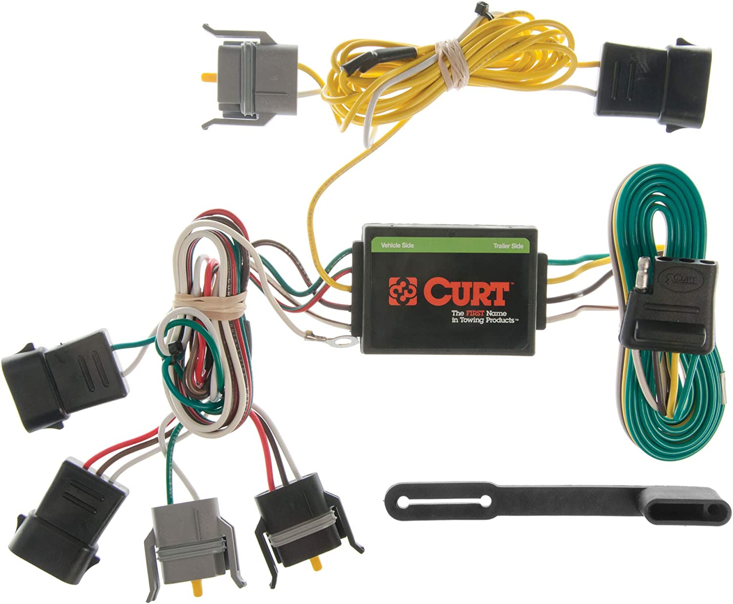 [SCHEMATICS_49CH]  Amazon.com: CURT 55346 Vehicle-Side Custom 4-Pin Trailer Wiring Harness for  Select Ford Windstar: Automotive | Ford Windstar Trailer Wiring Harness |  | Amazon.com