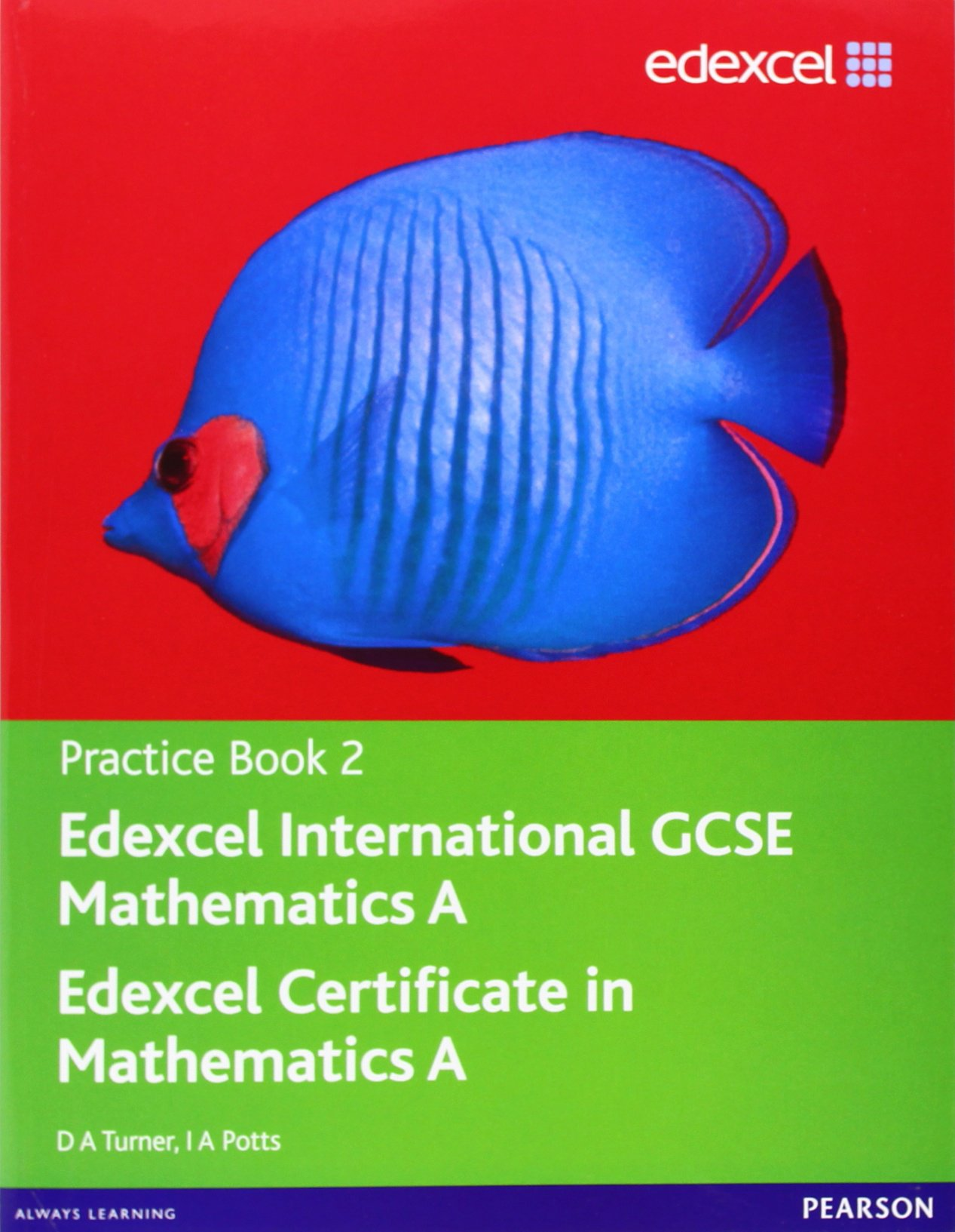 Edexcel International GCSE Mathematics A Practice Book 2: D. A. ...