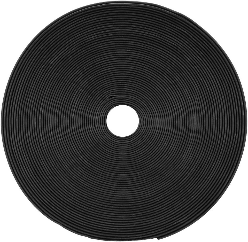 Sourcingmap Tube thermor/étractable 2:1 pour c/âble disolation /électrique Noir 12 mm Diam/ètre 10 m