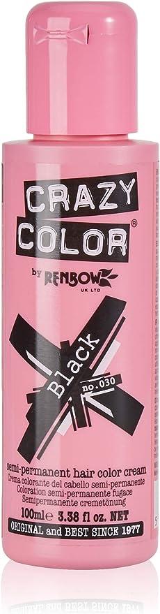 Crazy Color Black Nº 30 Crema Colorante del Cabello Semi-permanente