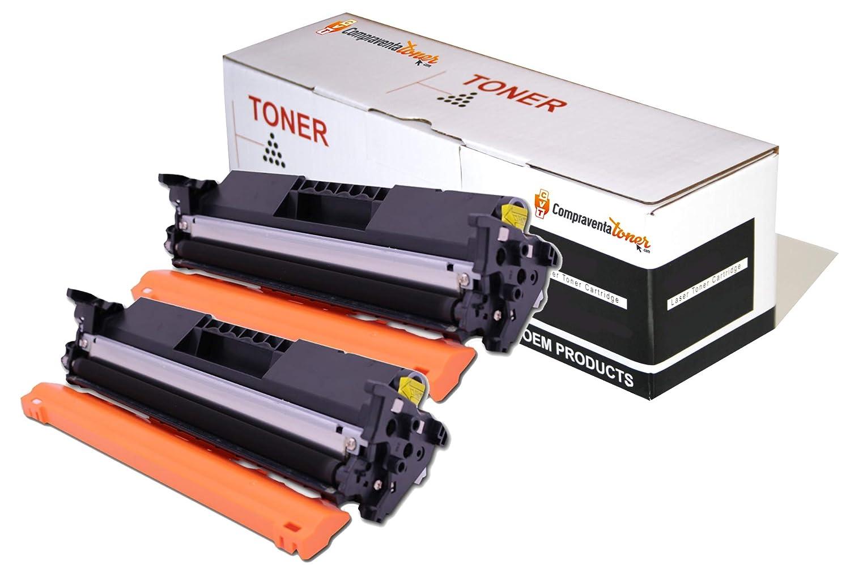 CVT - Pack 2 Toner Compatibles CF294A 94A para HP Laserjet Pro ...