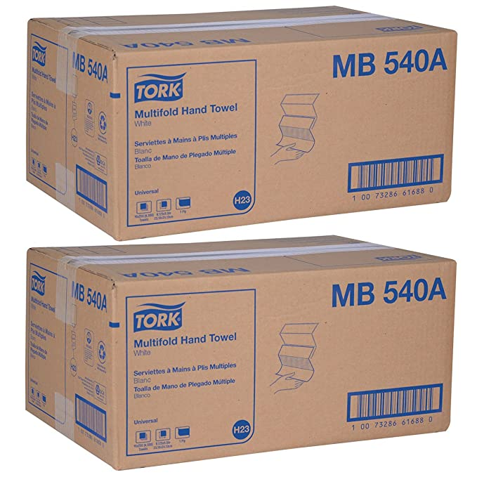 Amazon.com: Tork Universal MB540A Multifold Paper Hand Towel, 1-Ply, 9.5