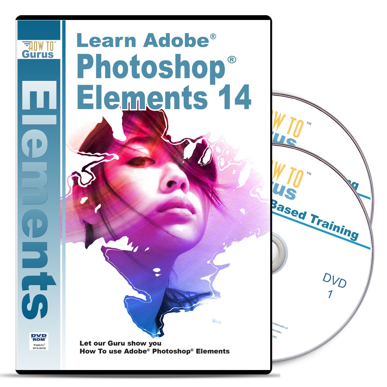 Amazon photoshop elements 14 tutorial software over 15 hours amazon photoshop elements 14 tutorial software over 15 hours 233 videos on 2 dvds complete training for adobe photoshop elements office products baditri Images