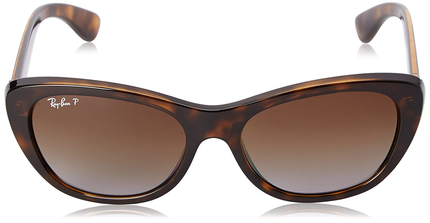 f740a0ce8bd Amazon.com  Ray-Ban Women s Injected Woman Sunglass Polarized Square ...