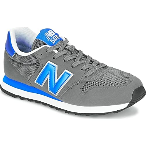New Balance GM500KSR - Zapatillas para Hombre, Color Azul Marino/Verde (Dark Navy/Green), Talla 43 (9 UK)