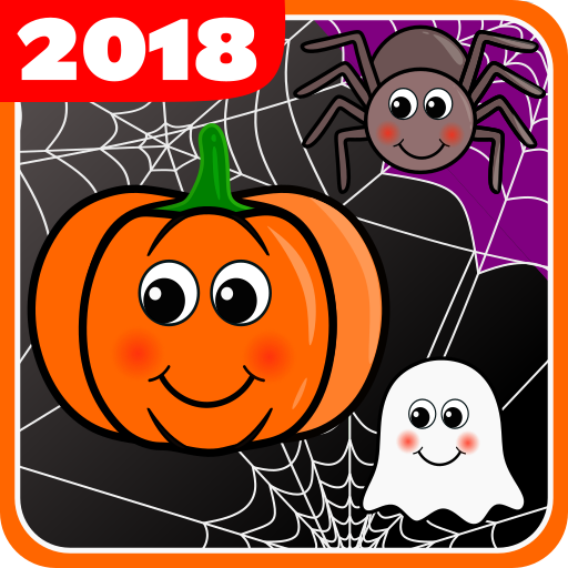 Touch Pumpkins Halloween. Game for kids