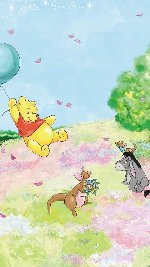 ディズニー 『くまのプーさん』プー,イーヨー,ルー XFVGA(480×854)壁紙画像