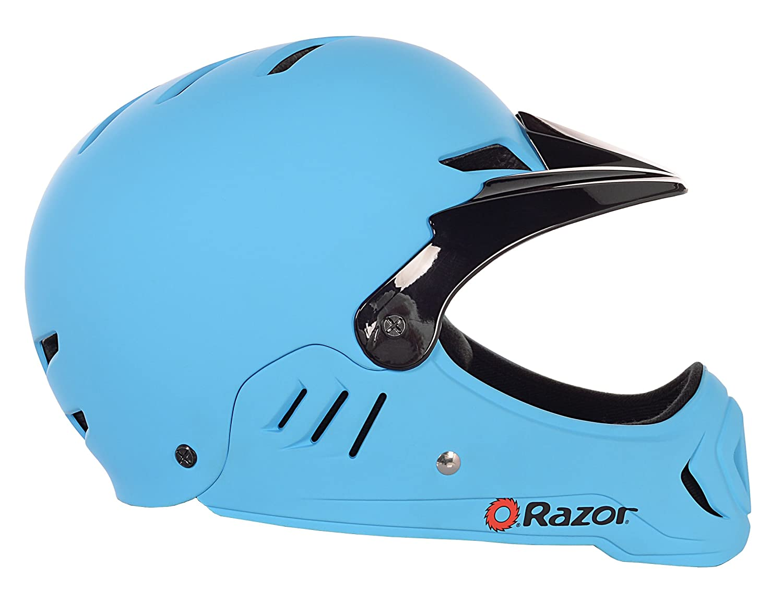 Razor Child Full Face Helmet Matte Blue Kent International Inc 97876
