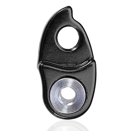 Adattatore per deragliatore posteriore per bicicletta antiruggine