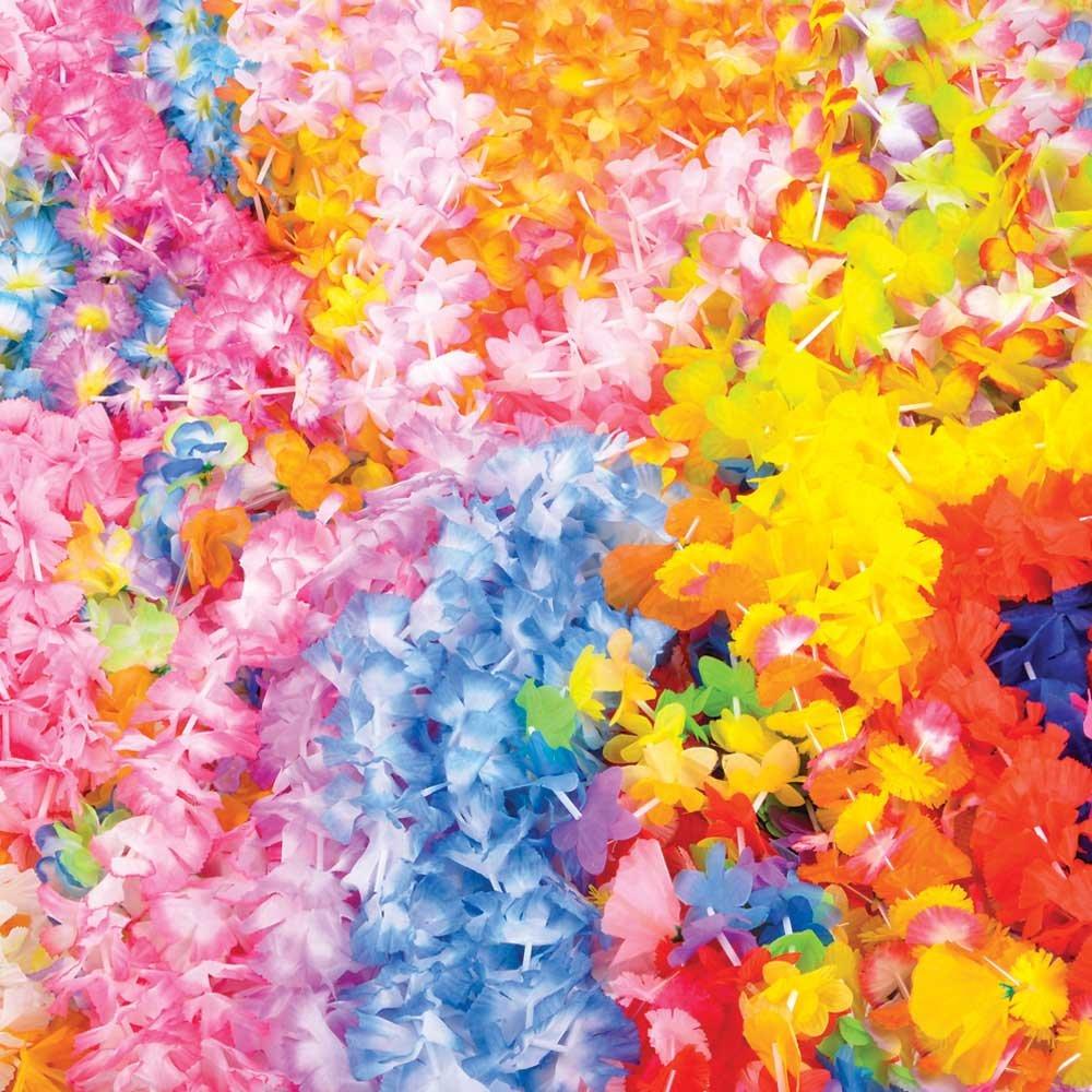 Amazon 100 Assorted Flower Leis Wholesale Luau Party Supplies