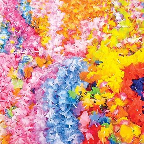 Amazon 100 assorted flower leis wholesale luau party supplies 100 assorted flower leis wholesale luau party supplies mightylinksfo