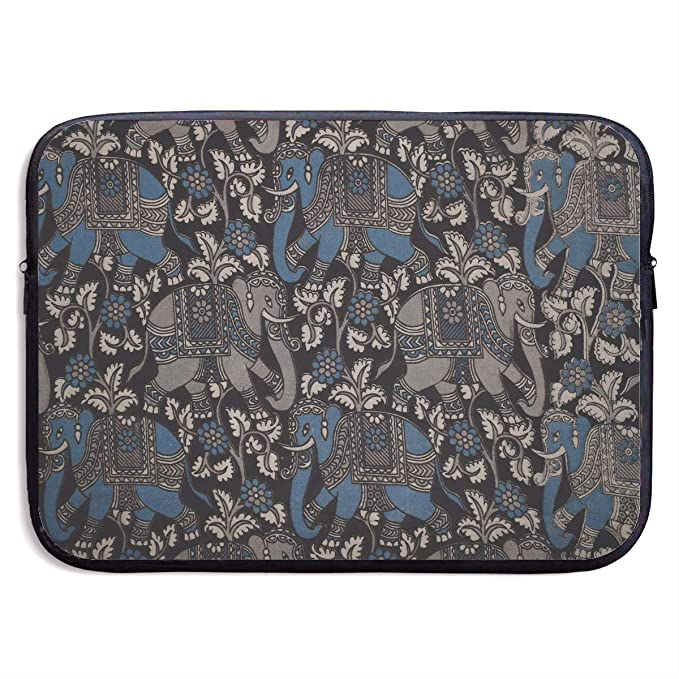 82fe0b706dbc Amazon.com: Retro Elephant Print Business Briefcase Laptop Sleeve ...