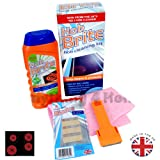 Hob Brite Hob Cleaning Kit Hob Cream Cleaner Remove Dirt Scraper Dirty Hob Cleaner Glass Safe