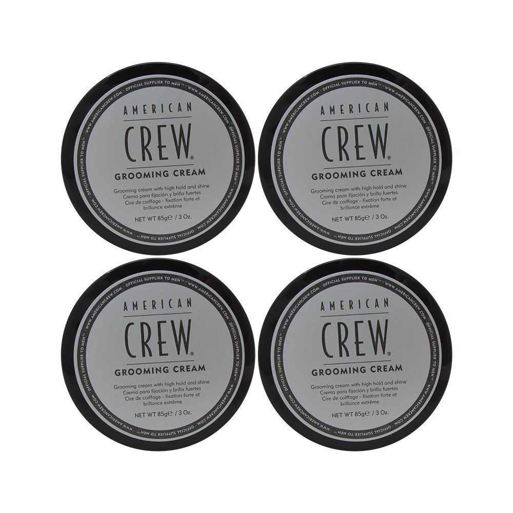 American Crew Grooming Cream, 3 oz (Pack of 4)