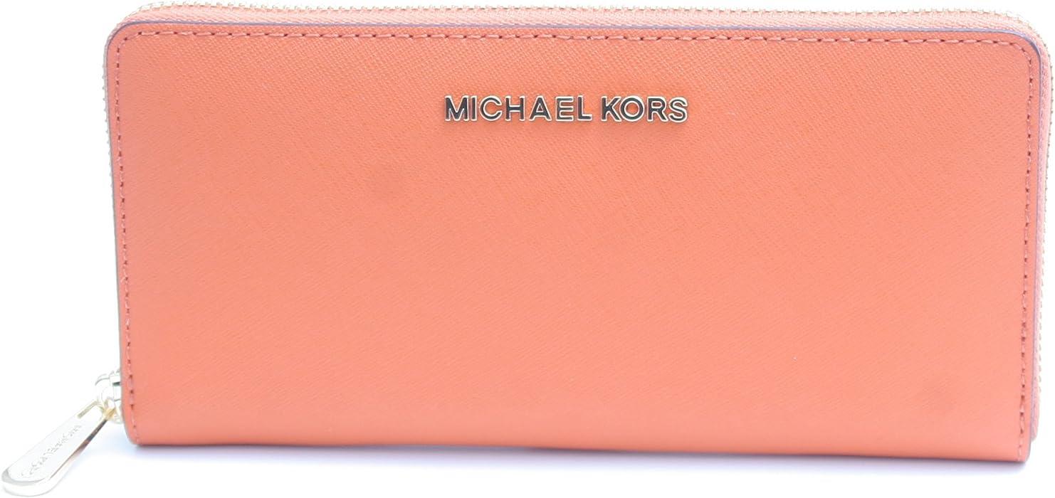 fcd126f0dfa7 MICHAEL KORS GIFTABLE WALLET (TANGERINE) at Amazon Women s Clothing ...