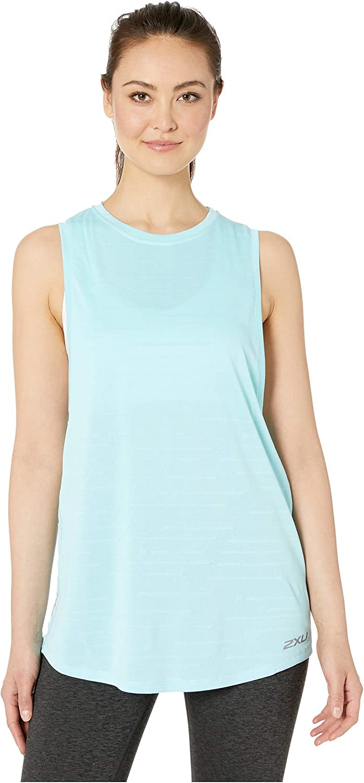 2XU XVENT Camiseta de tirantes de malla para mujer