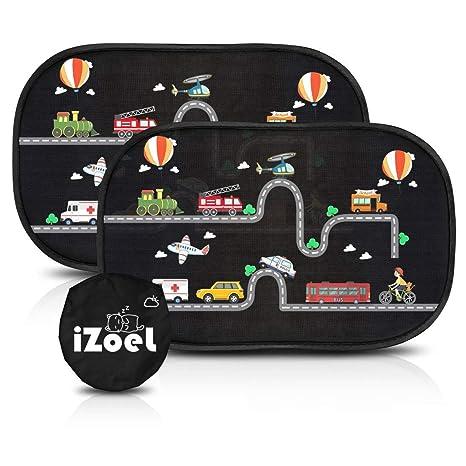 Amazon.com: iZoeL - Parasol para coche para bebés y niños ...