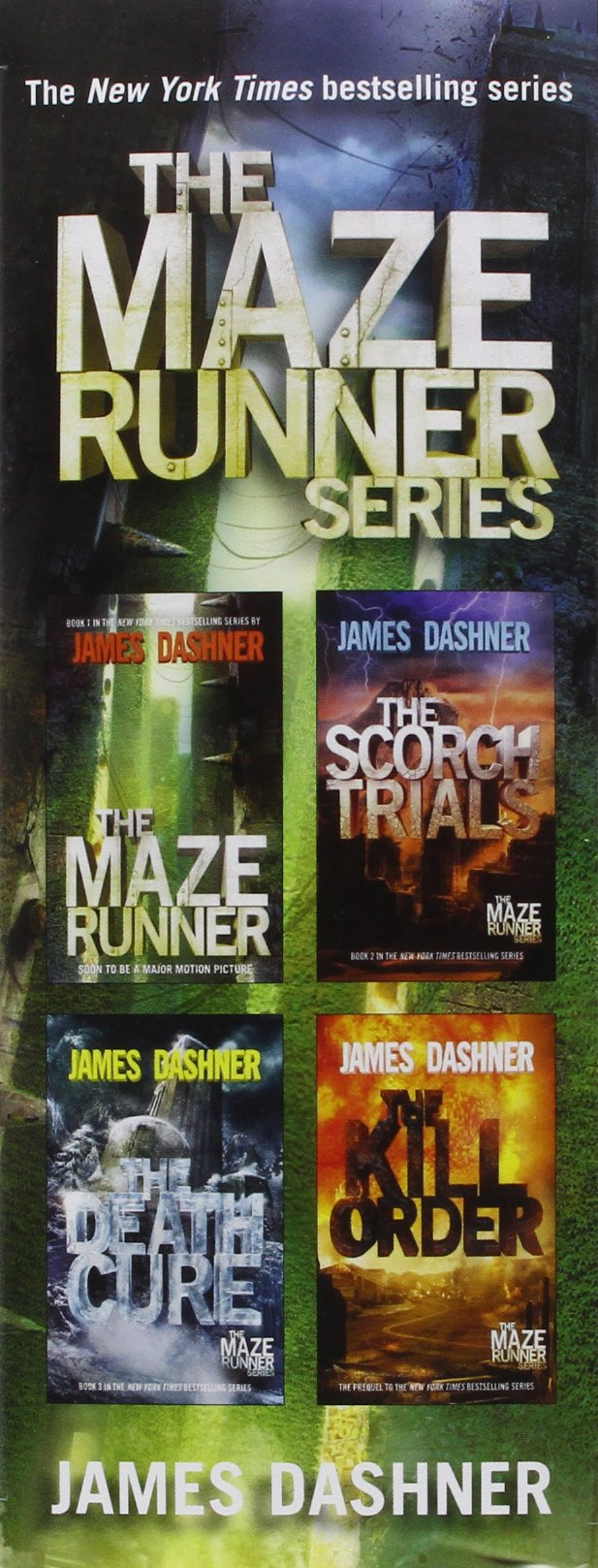 Amazon: The Maze Runner Series (maze Runner) (8601411293238): James  Dashner: Books